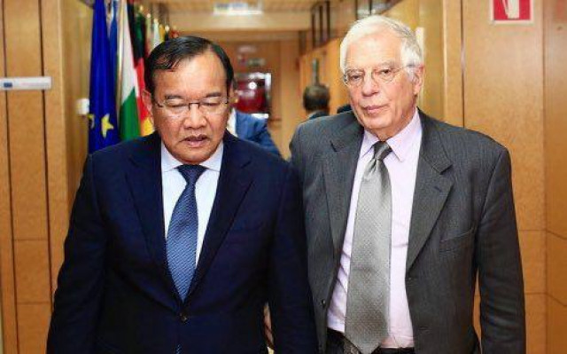 EU presses Cambodia on Human Rights and Democracy