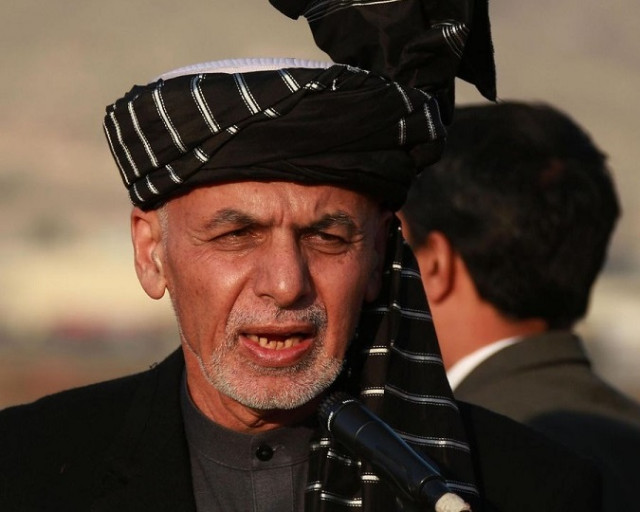 Afghan president welcomes initial election results, gov't chief executive Abdullah challenges
