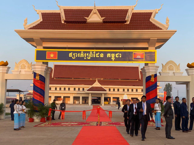Cambodian-Vietnam Border Market Opens to Boost Trade Volume