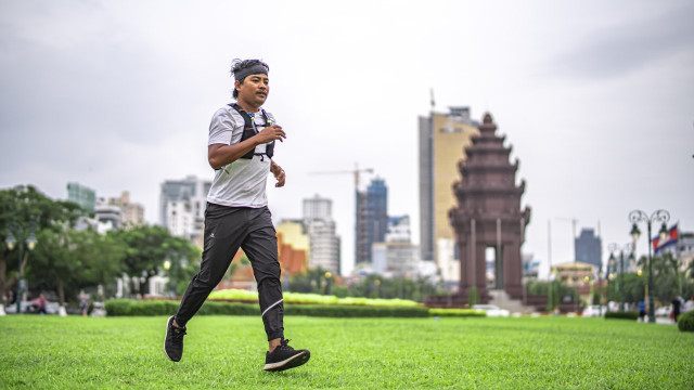 Man runs 198 km to raise funds for children's hospital