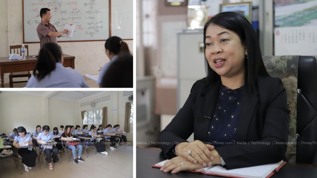 RUPP's Khmer Literature Program Attracts More and More Chinese and Vietnamese Students