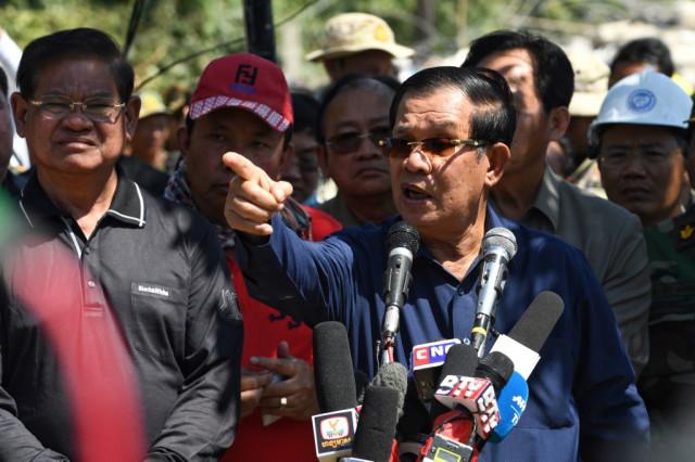 Hun Sen praises Kem Sokha