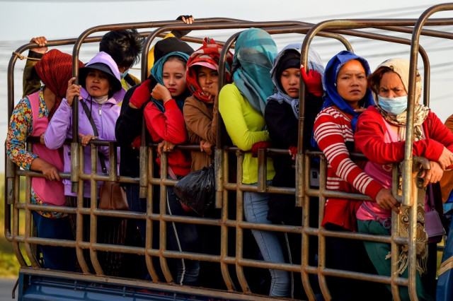 Cambodia's garment workers fret over deadly daily commutes