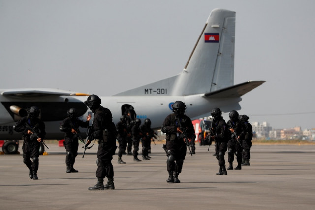 Hostage-Rescue Exercises Held Friday at Cambodia's Airports