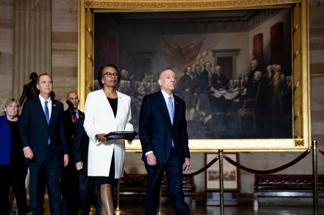 Trump impeachment articles delivered to Senate
