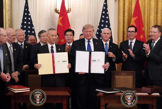 Trump hails China trade deal as 'much better' than expected