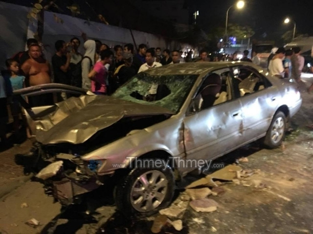 Sar Kheng Says Traffic Accidents Have Reached an Alarming Point