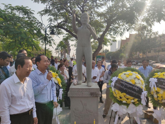 Unionists Call on the Authorities to Find Union Leader Chea Vichea's Killers