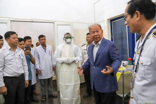 Cambodia prepared for Wuhan virus