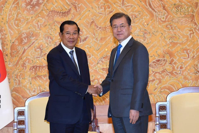 Cambodia and South Korea Discuss More Business between the Two Countries