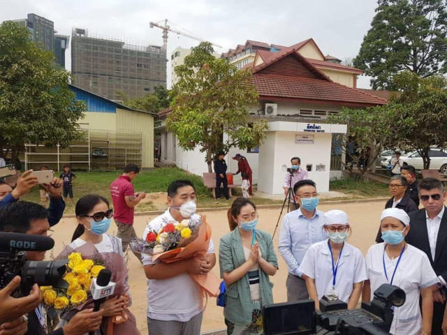 Cambodia's Only Confirmed Coronavirus Patient has Recovered, says Ministry of Health