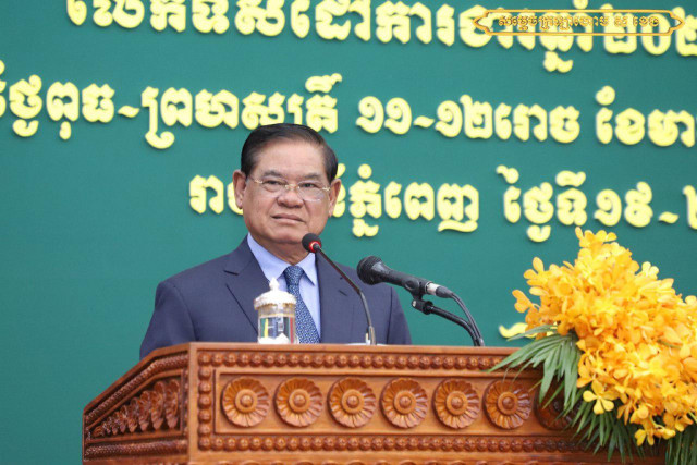 Cambodia is heaven for NGOs, Sar Kheng claims