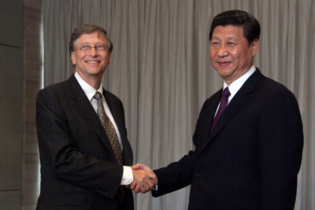 China's Xi writes thank you note to Bill Gates for virus pledge