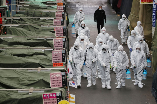 S. Korea becomes biggest coronavirus centre outside China