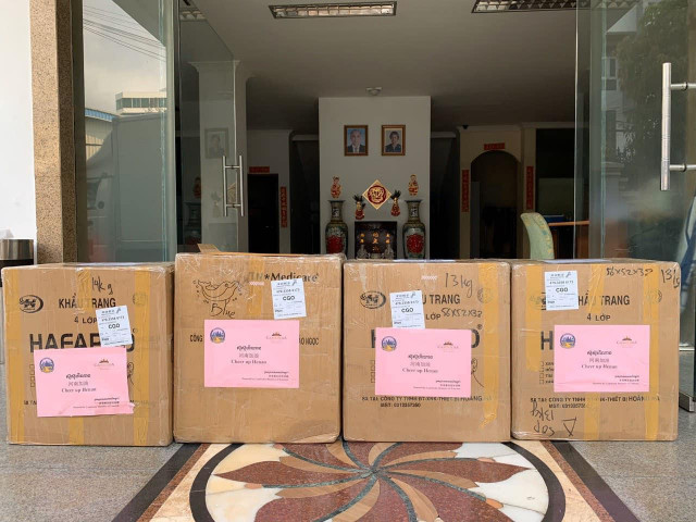 Cambodia Donates Supplies to China to Help Fight the COVID-19 Epidemic
