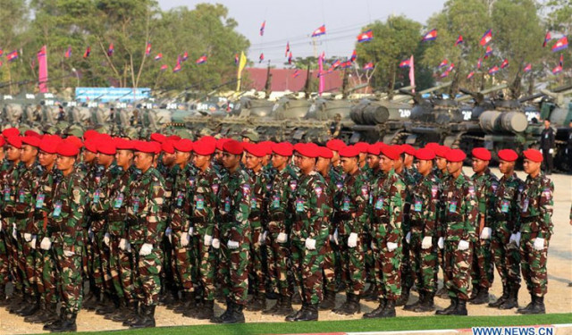 China, Cambodia to hold joint military training