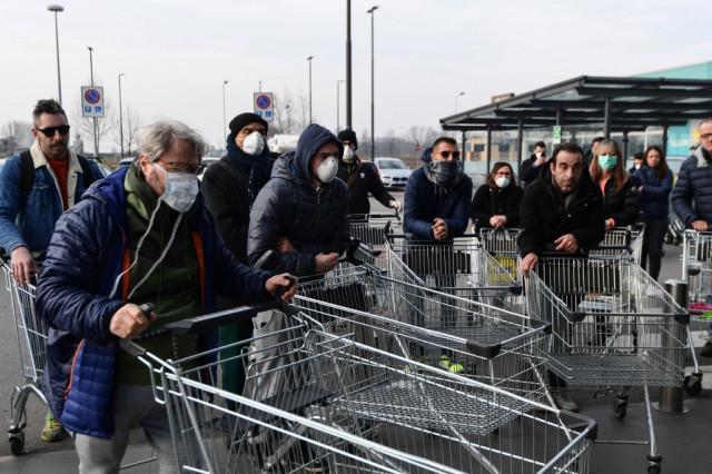 Italy reports 41 new coronavirus deaths, bringing toll to 148