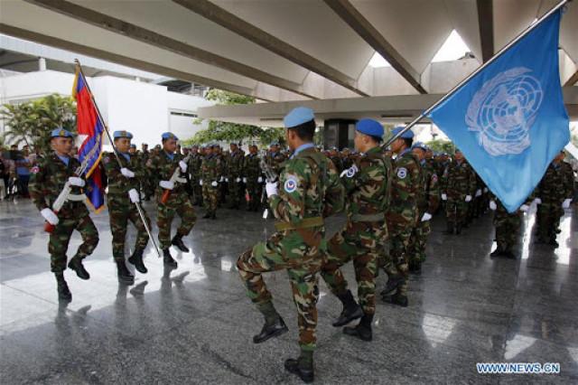 Coronavirus: UN asks 9 countries to delay peacekeeper rotations