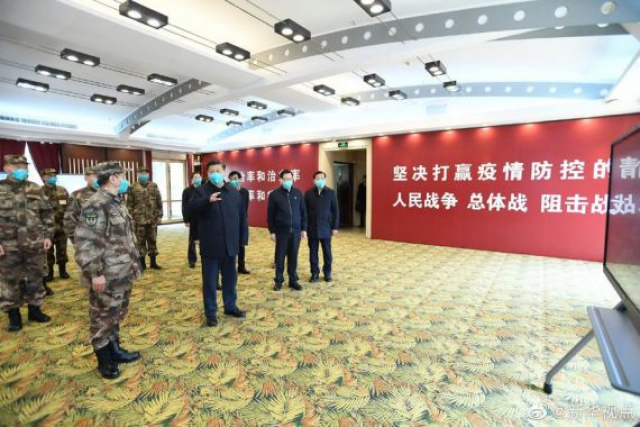 China's Xi pays first visit to virus epicentre Wuhan