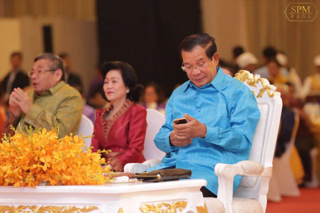 Hun Sen: Government Has Right to Listen to Citizens' Phone Calls