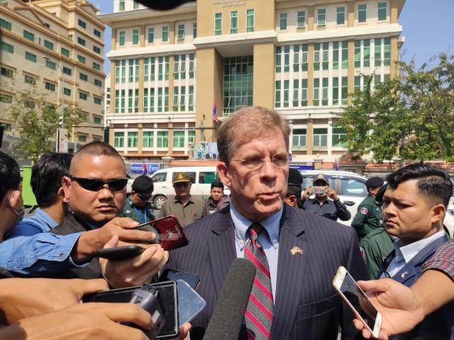 US Expresses Concerns Over Kem Sokha Trial