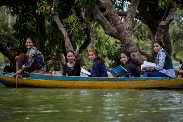 Women, Rivers and Water: a Closely Connected Theme