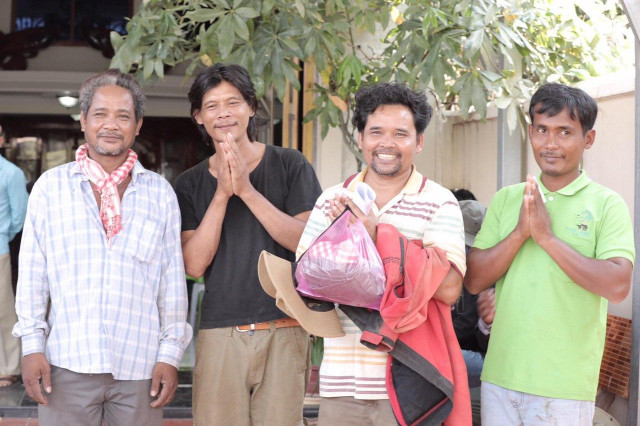 Four Environmental Activists Freed in Kratie