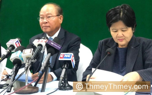 Cambodia starts to accept donations for COVID-19 fight: health minister