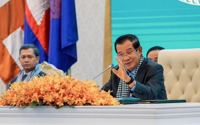 Hun Sen: COVID-19 Treatment Free of Charge