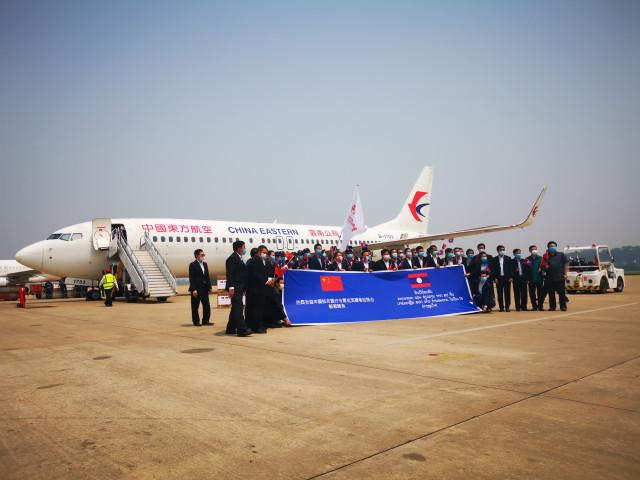 China sends COVID-19 medical team to Laos