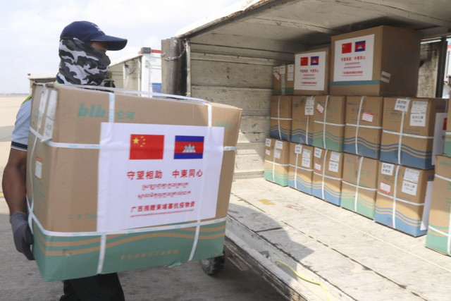 Chinese clothes manufacturer to donate 1 mln masks to Cambodia