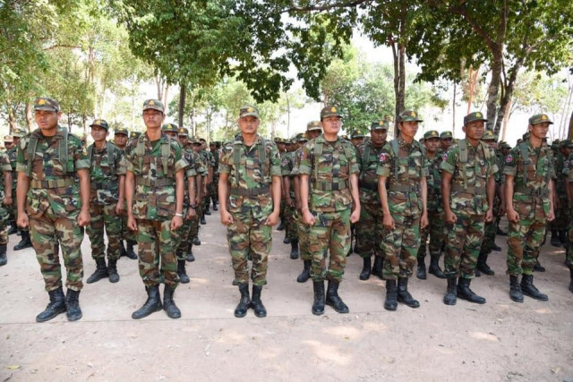 Cambodia's Armed Forces Are Set to Fight COVID-19, Defense Ministry Spokesman Says