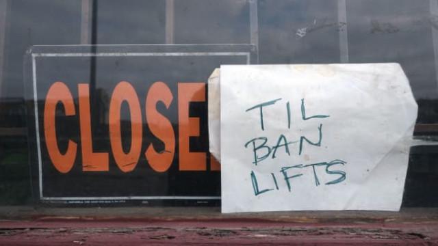 US small businesses seek $5.4 billion in virus relief loans