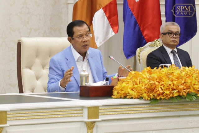 Hun Sen Confirms No Cause for State of Emergency Yet
