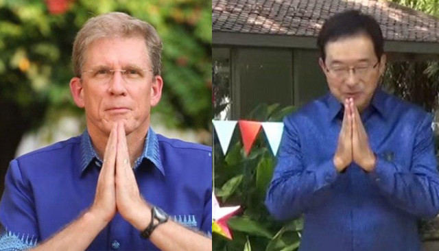Foreign Ambassadors Wish Cambodia Well for Khmer New Year