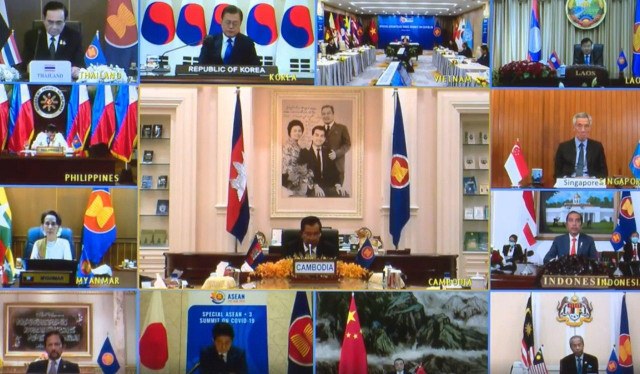 Hun Sen: ASEAN Must Learn from China and South Korea in tackling COVID-19