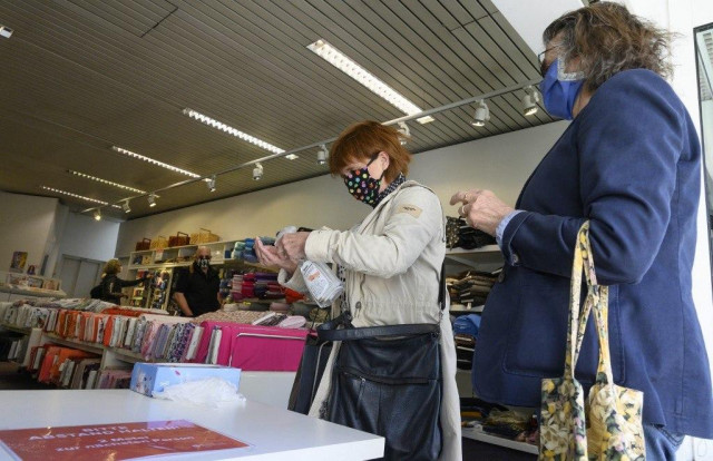 Germany reopens some shops as parts of Europe ease virus curbs