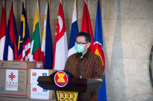 ASEAN secretary-general hails ASEAN-China cooperation in fighting COVID-19