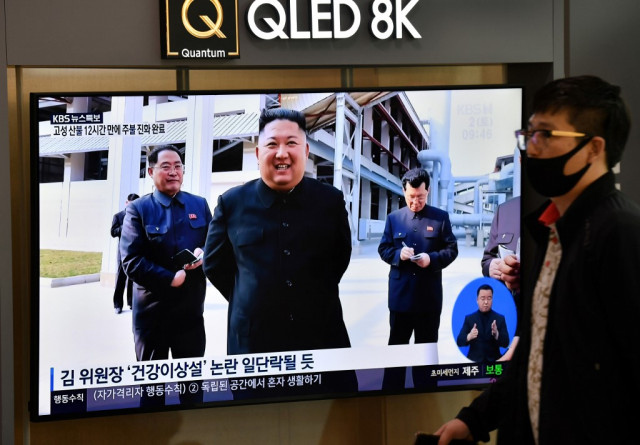 North Korea's Kim reappears after weeks of speculation