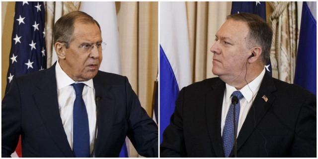 Lavrov, Pompeo discuss coronavirus, New START over phone