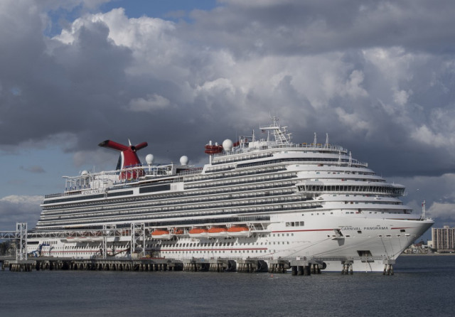 Virus crisis leaves thousands of cruise ship crew stuck at sea