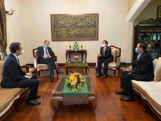 German Ambassador Praises Meeting Between Hun Sen and Kem Sokha