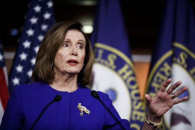 "White House's rhetoric on China ""interesting diversion"": Pelosi"