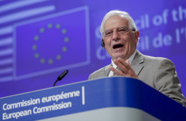 EU diplo chief attacks 'rival' China