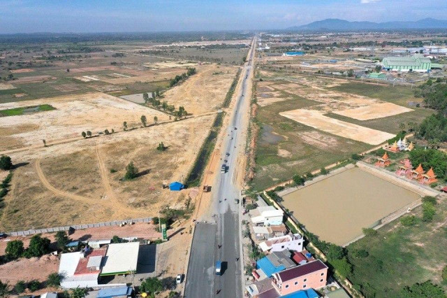 The Highway between Phnom Penh and Kampot Town May Be Completed earlier than Planned
