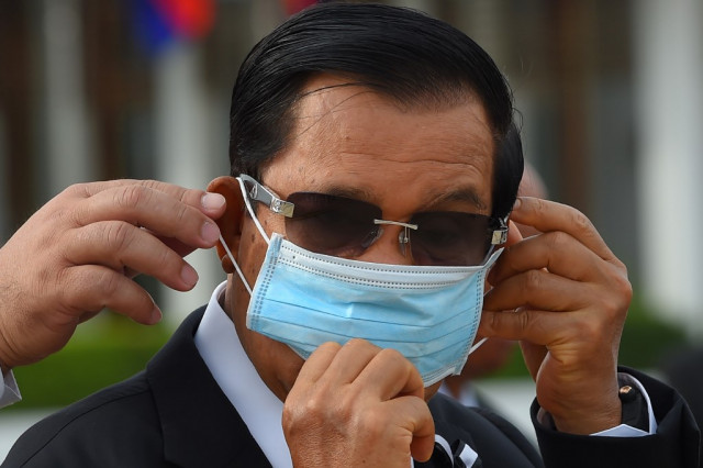 Cambodia's 'handsome hero' premier lauded for virus fight in new book