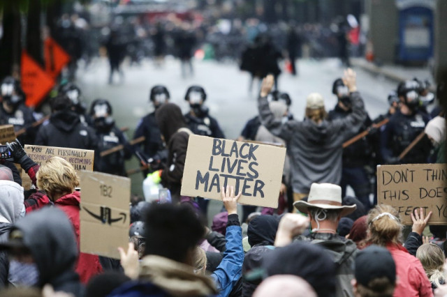Time for a change': Anti-racism protesters march across US