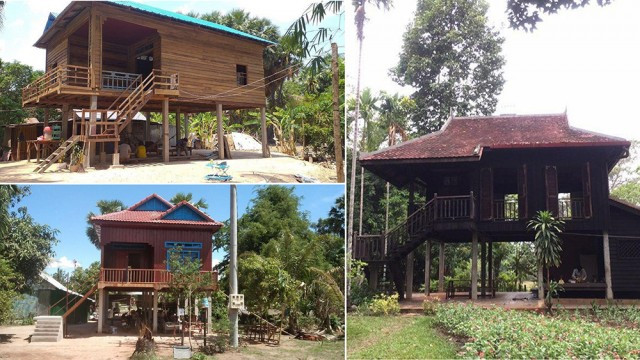 Angkor Archeological Park – Keeping the Centuries-Old Tradition in Khmer Home Styles