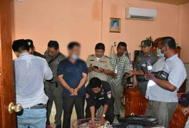Takeo Military Police Officer Detained on Suspected Drugs Trafficking Charges