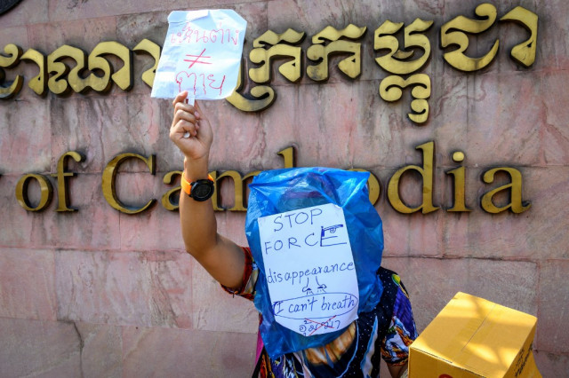 Protesters demand answers on missing Thai activist